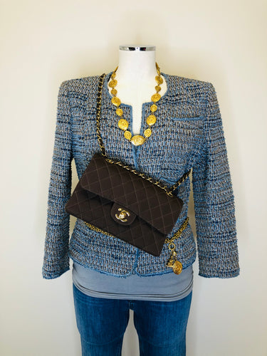 CHANEL Tweed Jacket Size 42