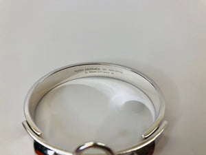 Hermès Sterling Silver Collier de Chien Small Bracelet