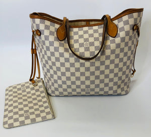 Louis Vuitton Neverfull MM with Pouch