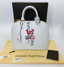 Load image into Gallery viewer, Louis Vuitton Alma PM Signature Blanc