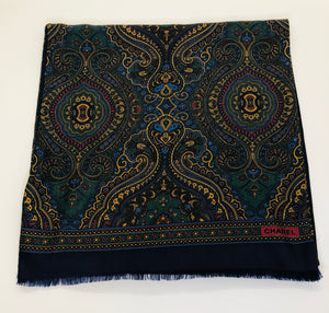 CHANEL Paisley Scarf