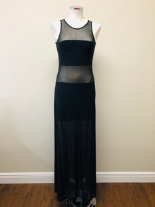 Alexis Mizuri - Long Mesh Dress Size Small
