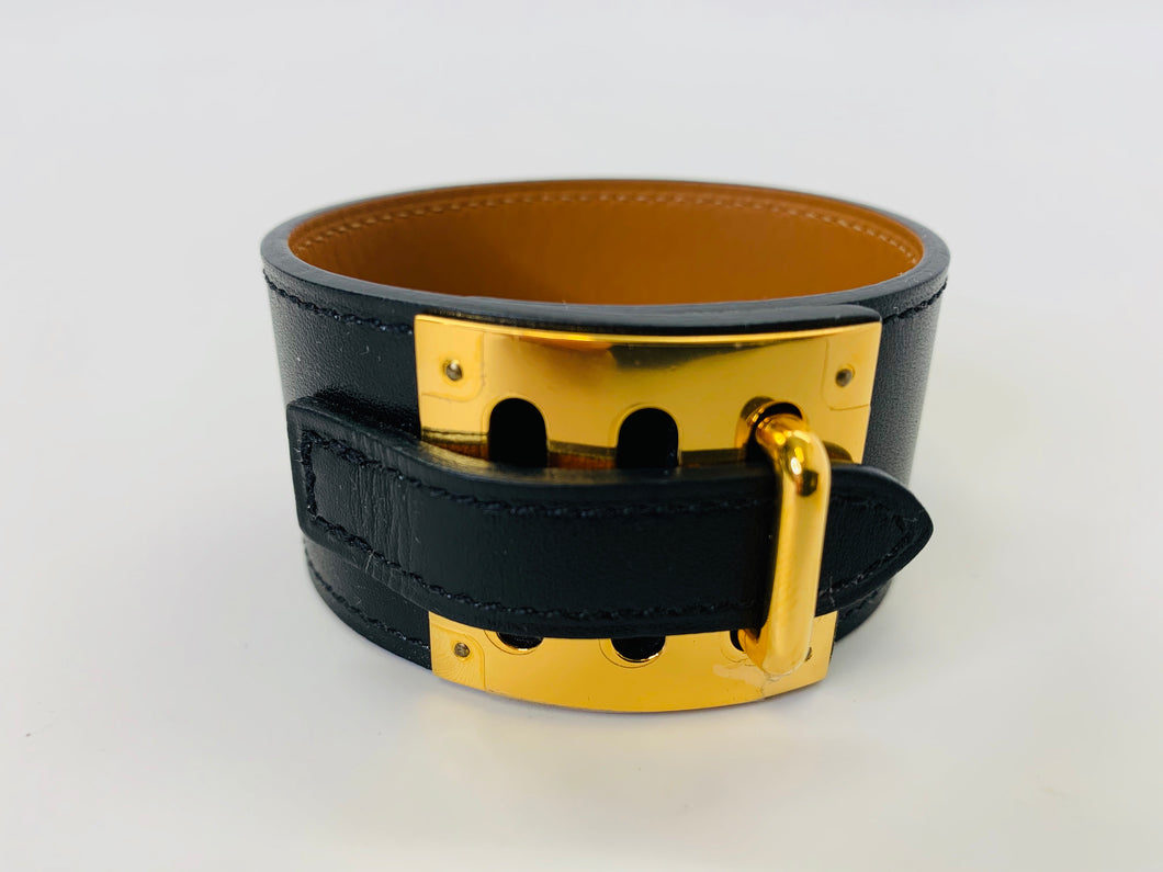 Hermès Black Box Swift Intense Bracelet Size M