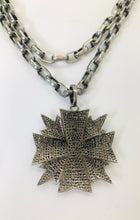 Load image into Gallery viewer, Rainey Elizabeth Maltese Cross Pendant Necklace