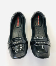 Load image into Gallery viewer, Prada Sport Black Flats Size 36