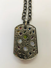 Load image into Gallery viewer, Rainey Elizabeth Dog Tag Chain Necklace