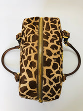 Load image into Gallery viewer, Prada Giraffe Print Hair Calf Shoulder Bag