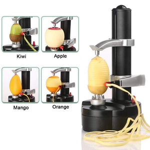 Electric Peeler,Multi-function Fruit and Vegetable Peeling Machine Planing Knife