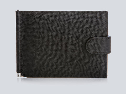 COMPACT BILLFOLD BLACK