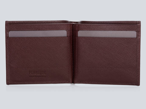 COMPACT WALLET BURGUNDY