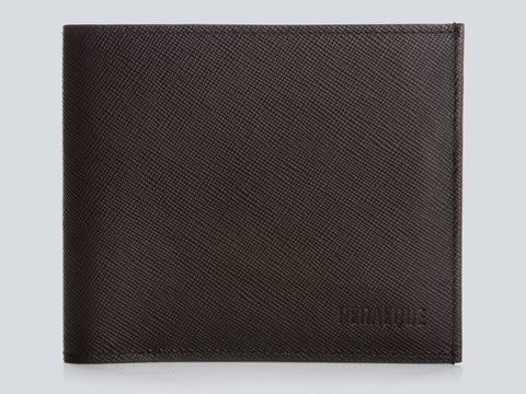 COMPACT WALLET BROWN