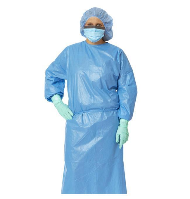 Disposable Gown, Isolation Level 2 (Pack of 10)