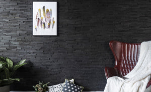 Dark Graphite-3D WOOD PANELS-Woody Walls