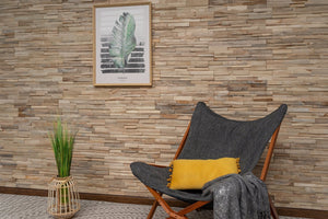 3D Wall Panels | Reclaimed Wood - Ivory-3D WOOD PANELS-Woody Walls