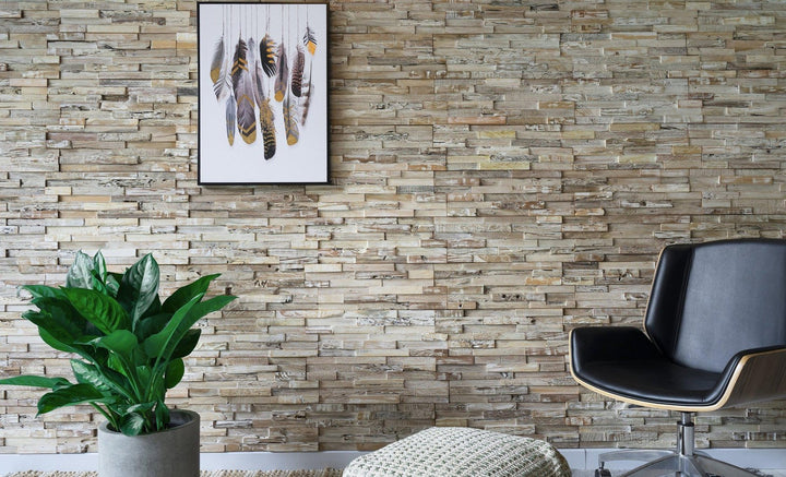 Weathered White-3D WOOD PANELS-Woody Walls