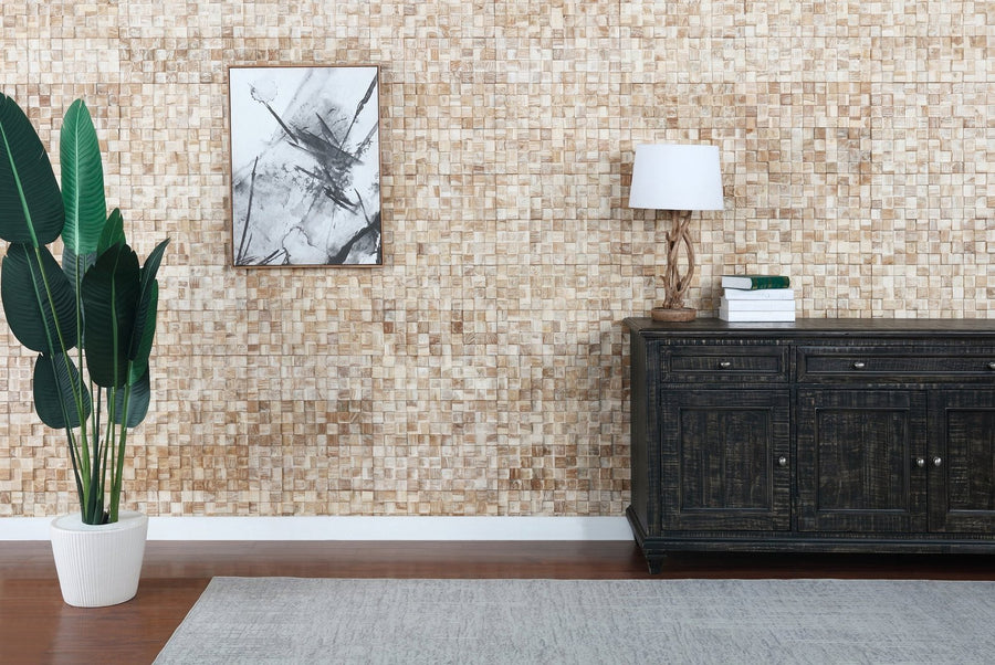 3D Wall Panels | Reclaimed Wood - White Square-3D WOOD PANELS-Woody Walls