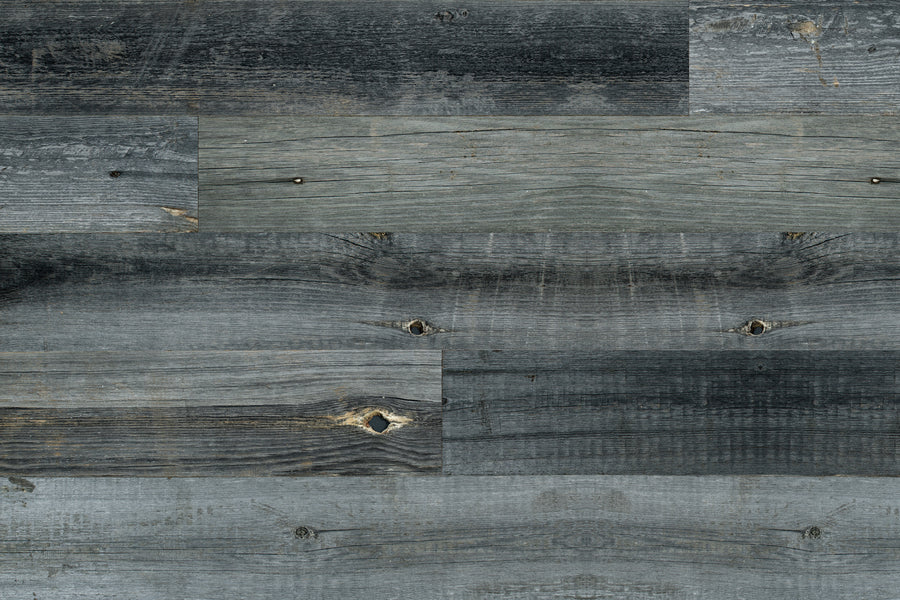 Reclaimed Wood Planks - Grey