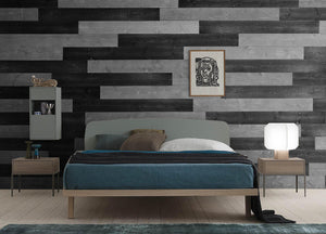 Charcoal, Gray. Real Wood (Pine) + Easy to Install