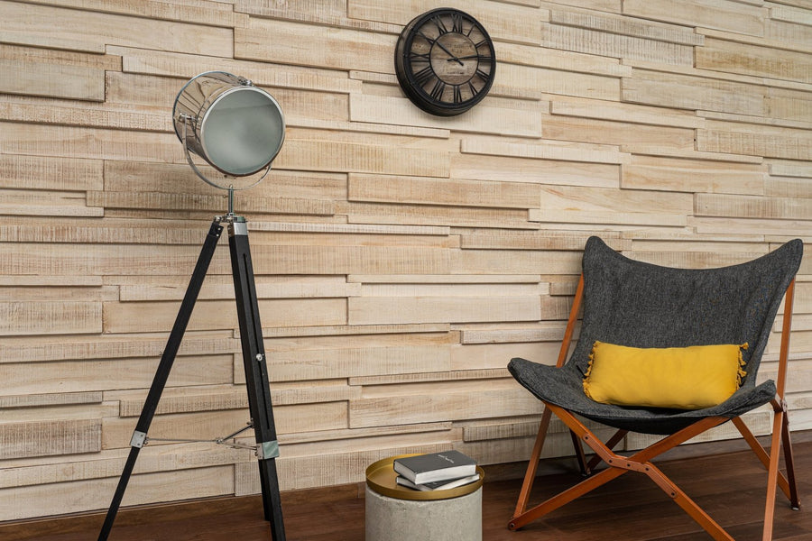 Long 3D Wall Panels - Iceberg-3D WOOD PANELS-Woody Walls