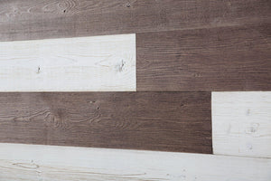Old Brown, White. Real Wood (Pine) + Easy to Install