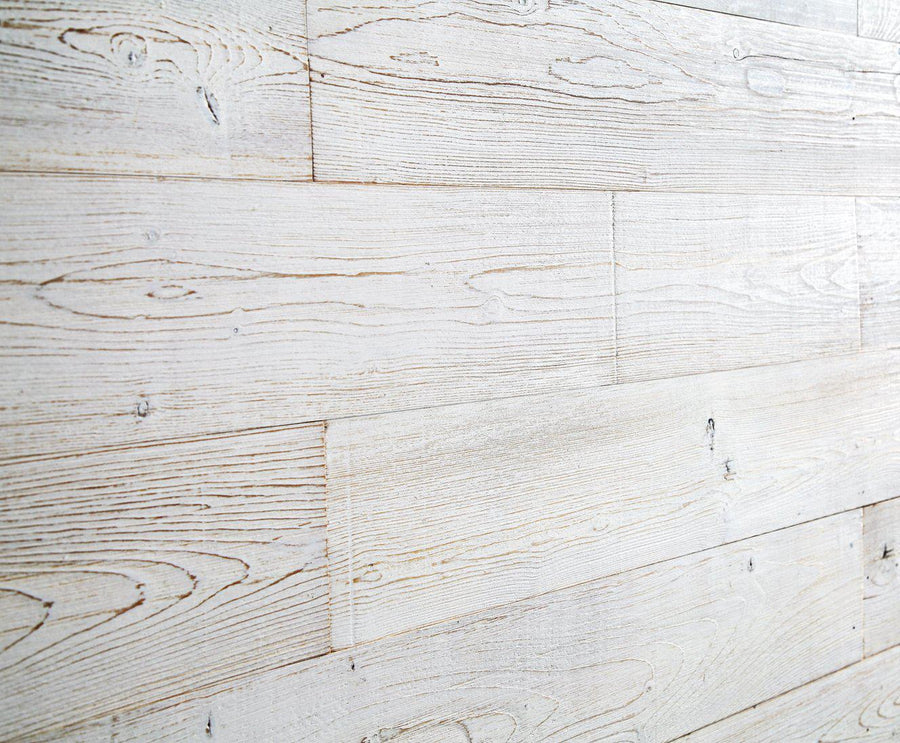 White Washed. Real Wood (Pine) + Easy to Install