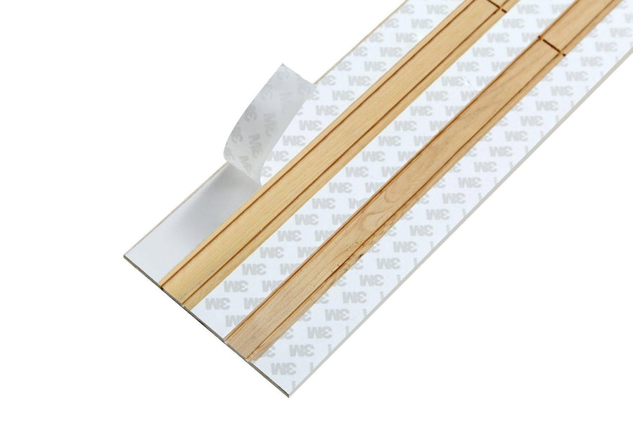 Peel and Stick Planks - White Washed