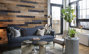 Reclaimed Wood Planks - Grey / Brown Mix-Reclaimed Wood Planks-Woody Walls