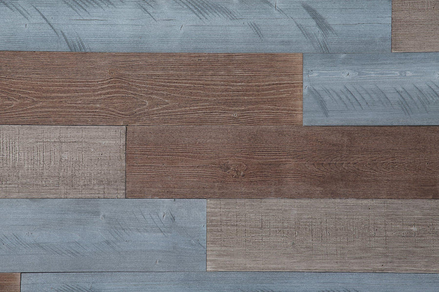 Warm Sand, Natural Gray, Old Brown. Real Wood (Pine) + Easy to Install