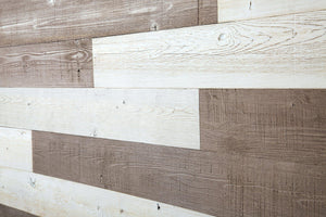 Warm Sand, White. Real Wood (Pine) + Easy to Install