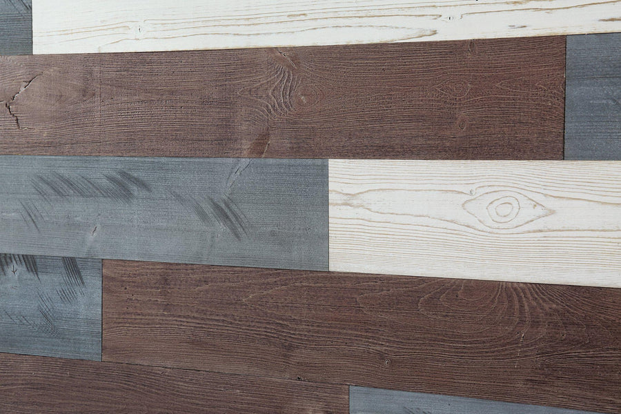 White, Natural Gray, Old Brown. Real Wood (Pine) + Easy to Install