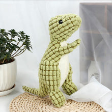 Load image into Gallery viewer, Squeaky Dinosaur Chew Toy