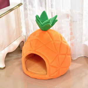 Pineapple Puppy Hut