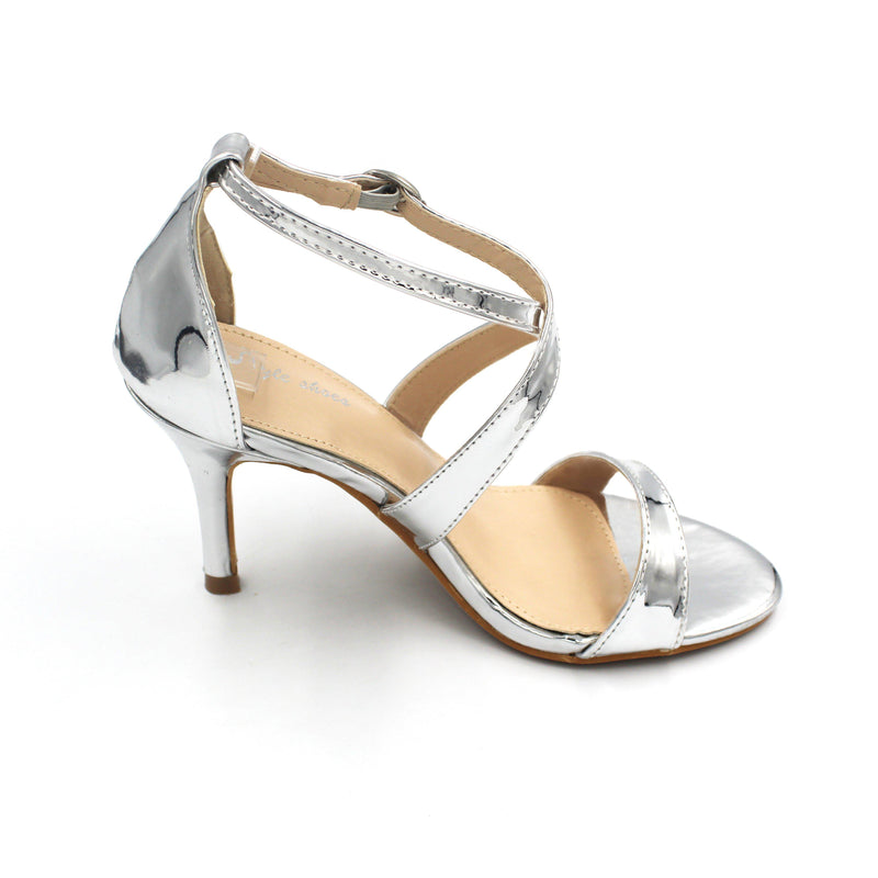 Jasmaira - Strap Heels for Women | Heel Sandals | Stiletto Heels | Buckle Closure | Open Toe - Jasmaira