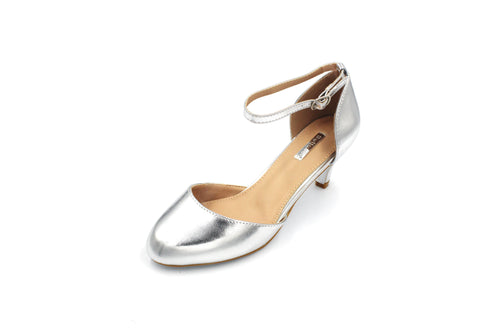Jasmaira - Sandals for Women | Kitten Heel for Ladies | Mid Heels | Buckle Closure | Close Toe - Jasmaira