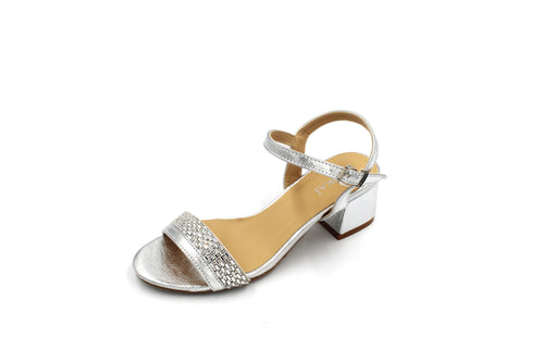 Jasmaira - Ankle Strap Sandals for Women | Low Block Heels | Strap Shoes for Ladies | Open Toe - Jasmaira