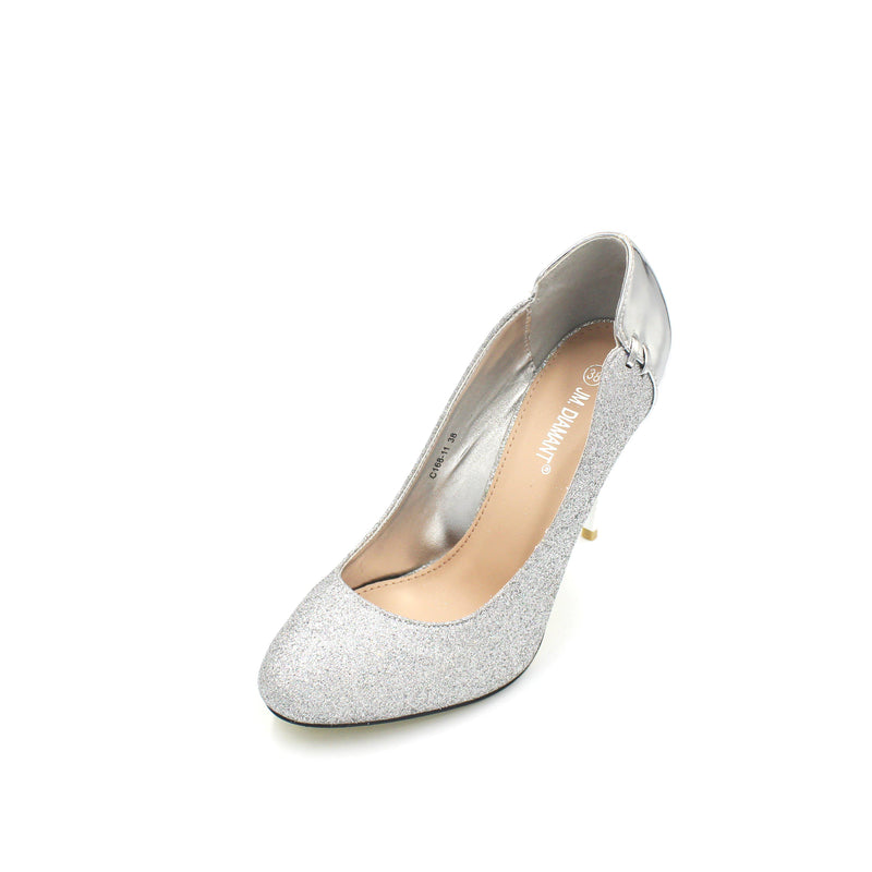 Jasmaira - 4.5in. Peep-Toe Sandals for Wedding Parties and Formal Dinners | Fashion Heels with Cushioned Footbed - Jasmaira