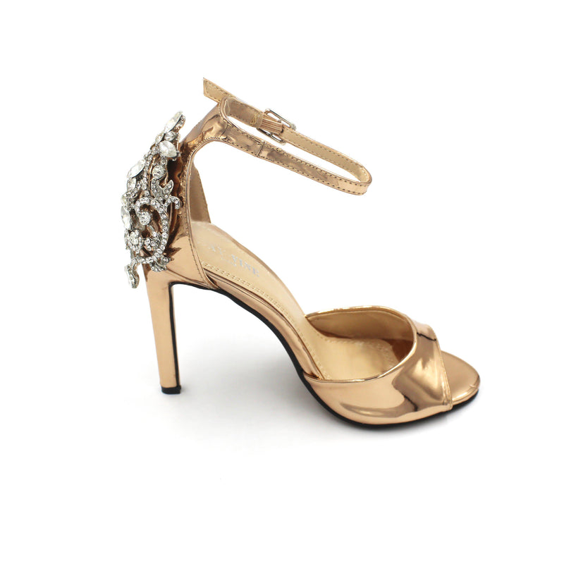 Jasmaira Strappy - Sandals with Ankle Strap, Closed-toe | Heels for Parties, Prom Night, Weddings - Jasmaira