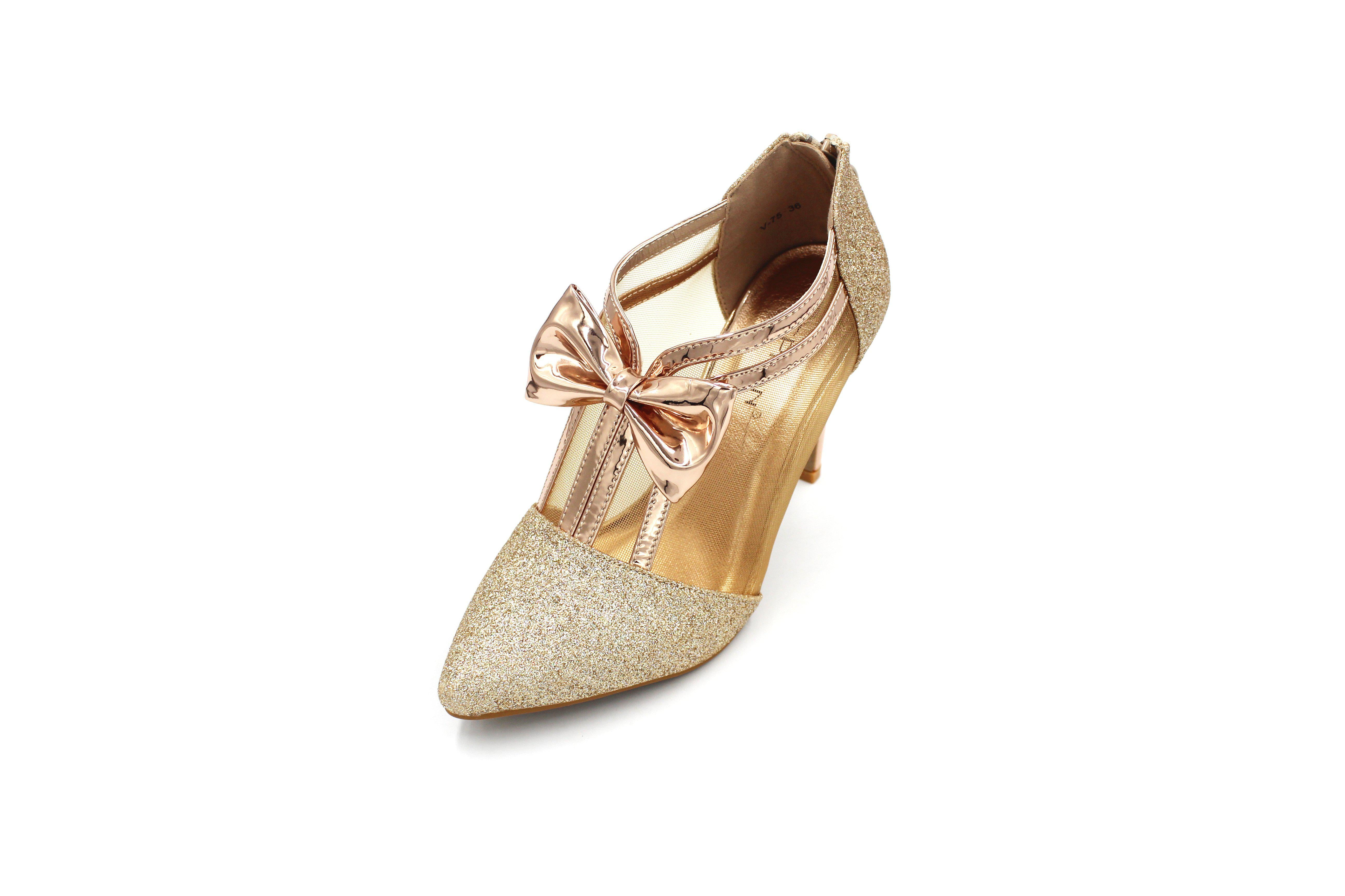 Jasmaira 3.5in. Ankle Heels for Ladies | for Women | Footwear for Formal Parties, Wedding Receptions - Jasmaira
