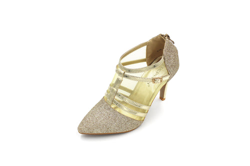 Jasmaira 3.5in. Heels for Ladies | Ankle High Heel for Women | Shoes for Parties & Formal Occasions - Jasmaira