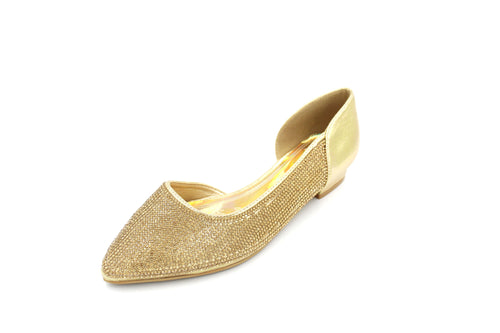 Jasmaira – Embellished Heels with Pointed Toe Design| Side Cut Pumps, Embellished Women Heels| Fashion Footwear for Parties