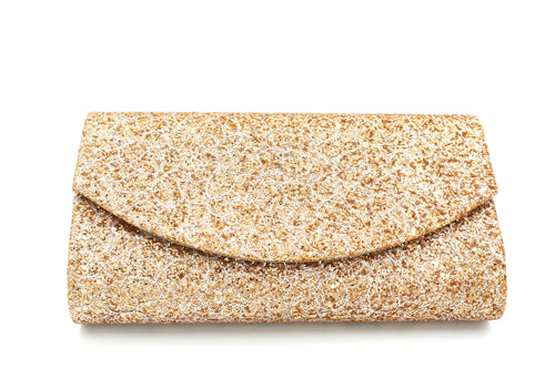 Envelope Style Clutch Bag In Many Colours With Long Shoulder Chain
