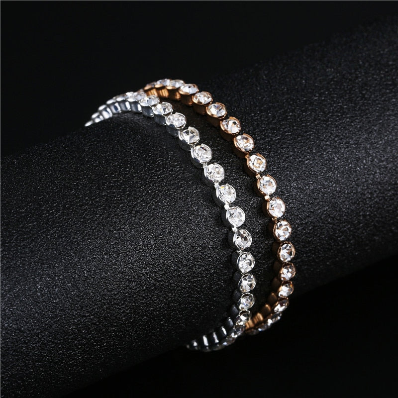 Zircon Bride Wedding Bracelet & Bangles Hip hop Jewellery AAA CZ Stone Tennis Bracelets For Women Party - Jasmaira