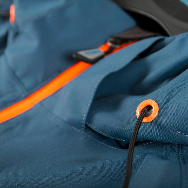 TOBE Tiro Mono Suit, Legion Blue - Hood detail 1