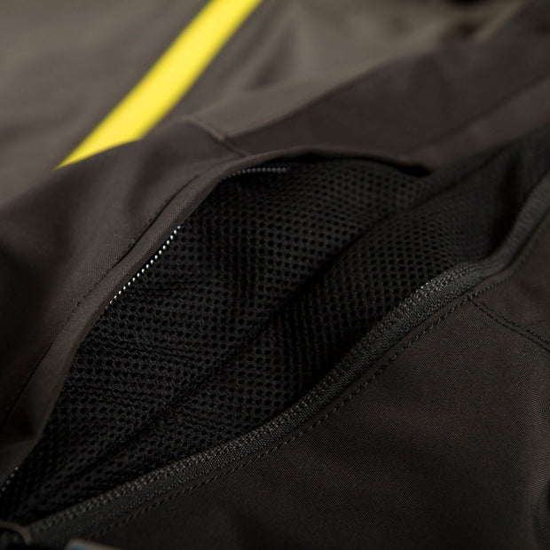 TOBE Tiro Mono Suit, Dark Ink - ventilation with mesh underarm / pit zip