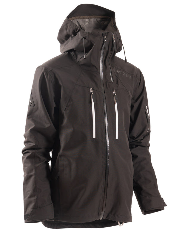TOBE Macer Jacket, Jet Black - Front
