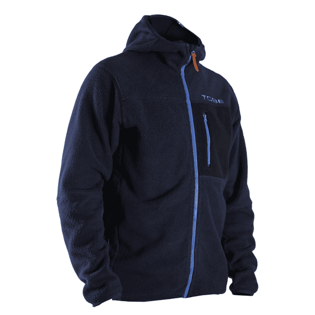 Aura Fleece Hood M, Navy