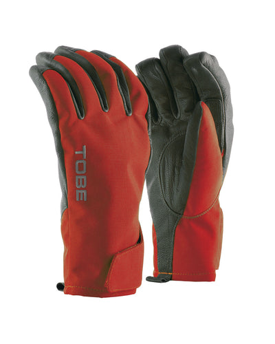 Snowmobile Glove, Capto Undercuff - Chili Pepper