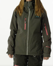 Fingo Wmn Jacket, Jet Black