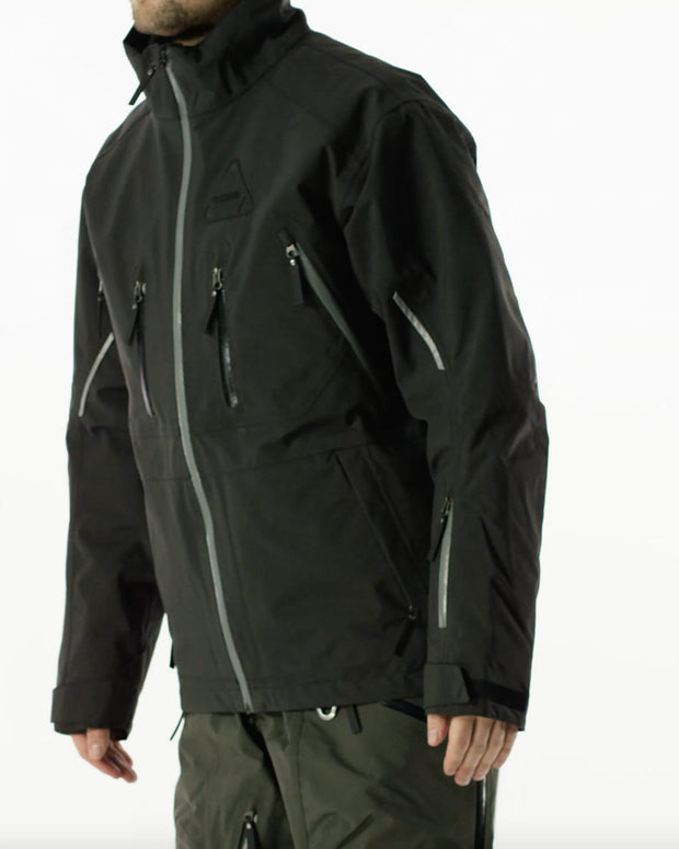 Iter Insulated Jacket, Jet Black