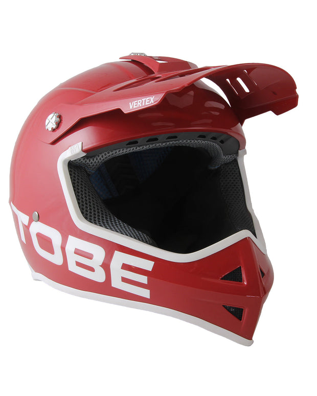Kids Vertex Helmet, Glossy Chili Pepper